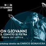 WORKSHOP DIRETTO DA  ENRICO BONAVERA - DON GIOVANNI O IL CONVITO DI PIETRA | Ridere del soffrire