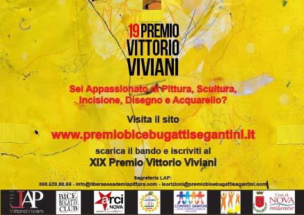 XIX Premio Vittorio Viviani. Concorso di pittura, scultura, incisione, disegno e acquarello.