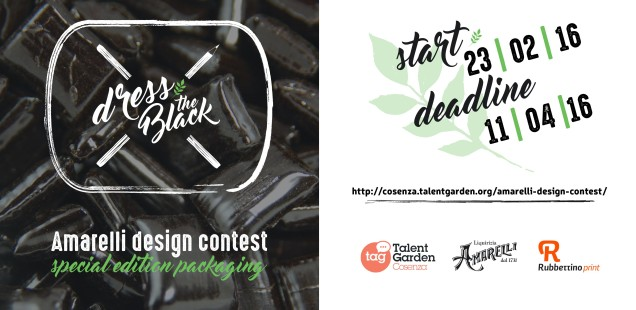 Amarelli Design Contest: dress the Black