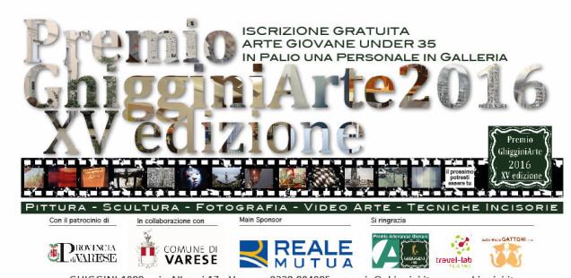 Premio GhigginiArte 2016 - XV edizione