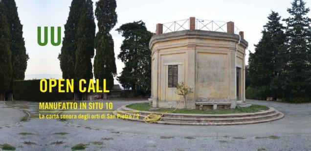 Progettazione artistica e sonora del paesaggio: Manufatto in Situ 10 o Carta Sonora degli Orti di San Pietro/2