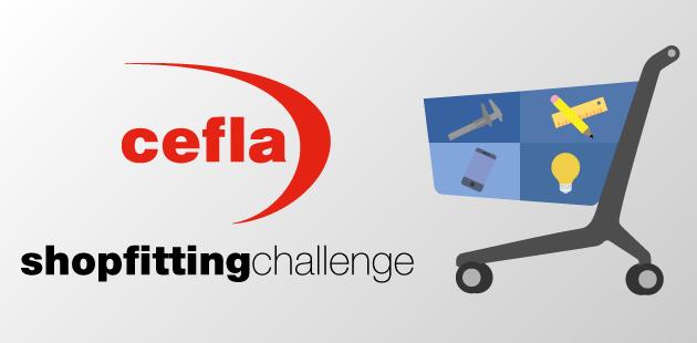 Cefla shopfitting challenge - disegna un carrello innovativo su Desall.com
