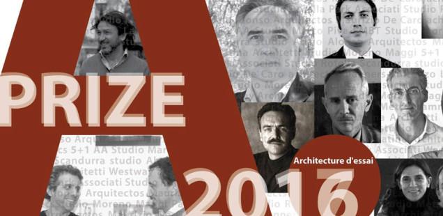 Raccontare l'architettura con un video: A.PRIZE 2016-2017