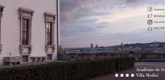 Residenze d'artista all'Accademia di Francia a Roma – Villa Medici