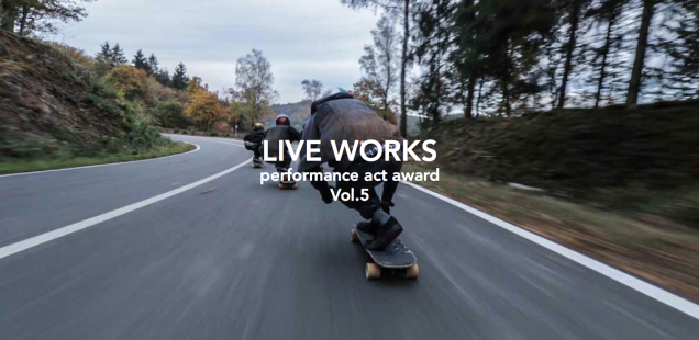 LIVE WORKS Performance Act Award_Vol.5