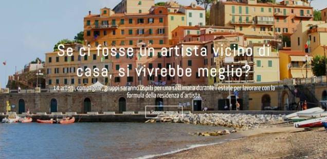 Una Stagione d'Artista, concorso per residenze d'artista all'Isola d'Elba
