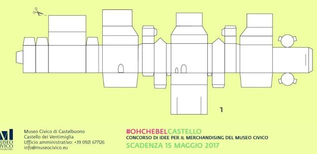 #OHCHEBELCASTELLO, concorso di idee per il merchandising del Museo Civico di Castelbuono