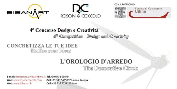 """4° concorso Design e Creatività """"Concretizza le tue idee"""""""