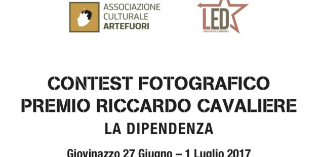"""Contest fotografico Premio Riccardo Cavaliere """"La dipendenza"""""""