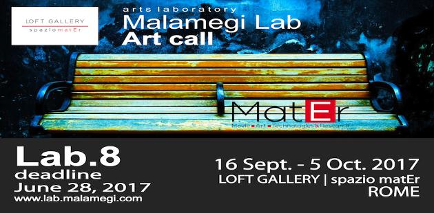 Malamegi Lab.8, art call per una nuova collezione di opere
