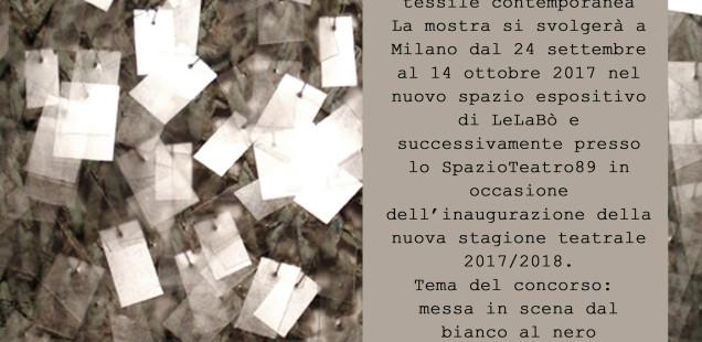 INTERMEZZO: concorso di paper&textile art