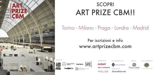 Art Prize CBM - Torino Milano Londra Praga Madrid