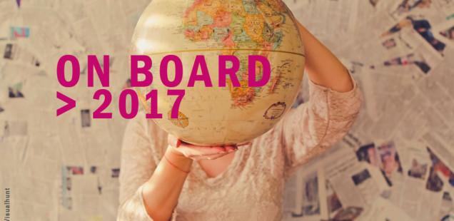 ON BOARD 2017, concorso per residenze rivolto a artisti, curatori e designer