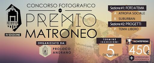 PREMIO MATRONEO - CONCORSO FOTOGRAFICO - IV EDIZIONE