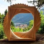 BoscoArteStenico 2018 concorso di scultura e land-art