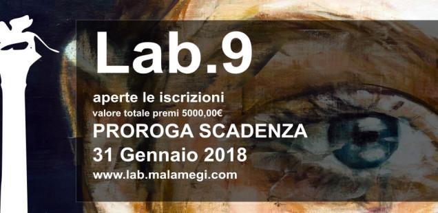Nuova scadenza per Malamegi LAB.9, contest internazionale di arte contemporanea