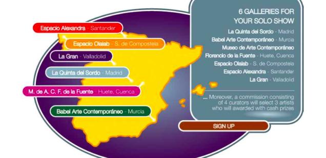 RADAR: 6 mostre personali in Spagna per 6 artisti selezionati.