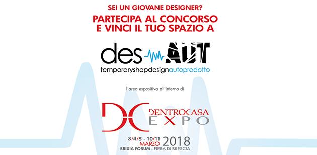 desAUT 2018 - giovani designer a dentroCASA EXPO 2018