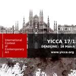 YICCA 17/18 - International Contest of Contemporary Art
