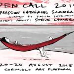 Open Call: Decompression Gathering Summer Camp 2018 con Steve Lambert