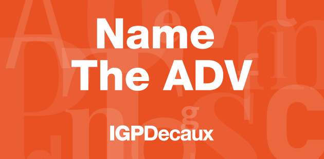 IGPDecaux - Name the ADV