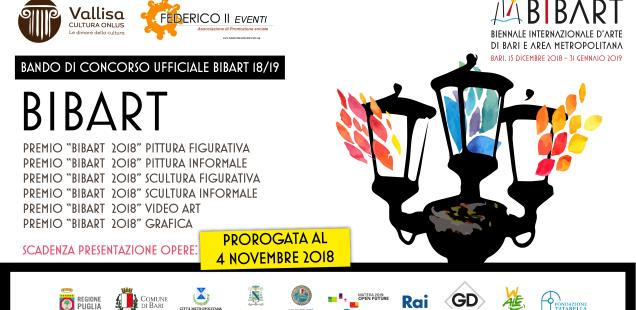BANDO PER SCRITTORI / I Premio Letterario Vittorio Stagnani - Bando Bibart Biennale Internazionale d'Arte 2018/2019 - Concorso letterario
