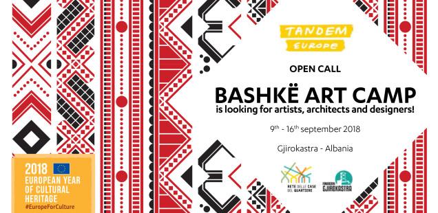OPEN CALL per partecipare al Bashkë Art Camp 2018