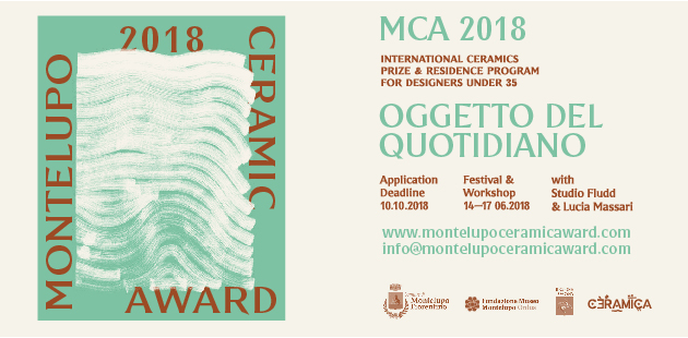 MCA2018 - Montelupo Ceramic Award