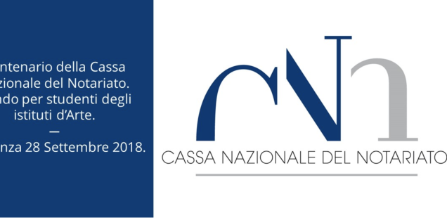 Bozzetto per il Centenario della Cassa Nazionale del Notariato