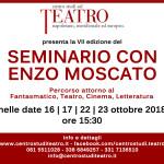 BANDO DI SELEZIONE PER LA PARTECIPAZIONE AL SEMINARIO CON ENZO MOSCATO