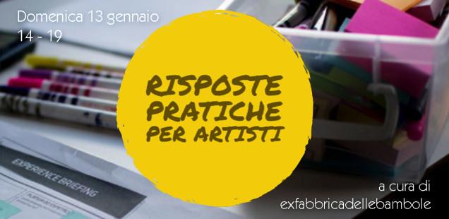 Risposte pratiche per artisti