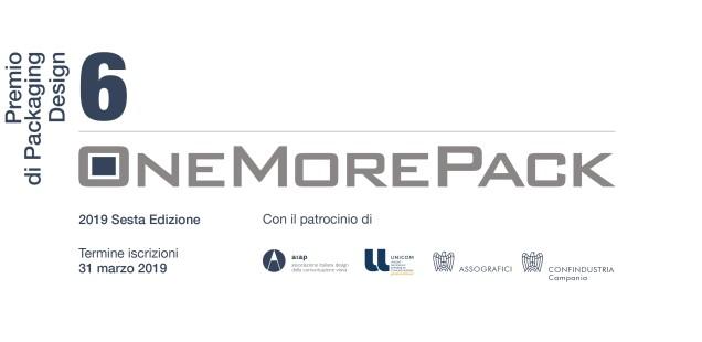 OneMorePack 2019: iscrizioni aperte per professionisti e studenti di packaging design