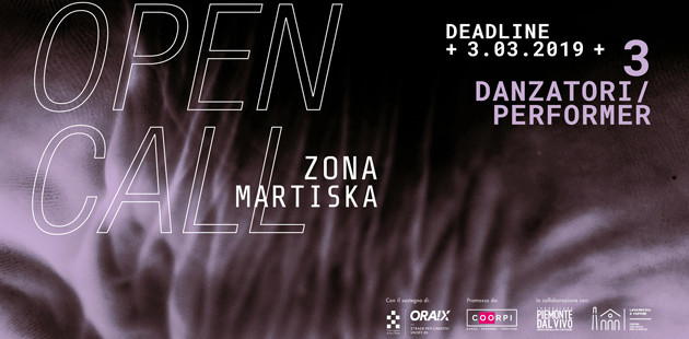 Open CALL  ZONA MARTISKA