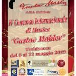 """IV Concorso Internazionale di Musica """"Gustav Mahler"""""""