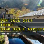 Residenze d' Artista. Bienno Borgo degli Atisti -2019- VII edizione