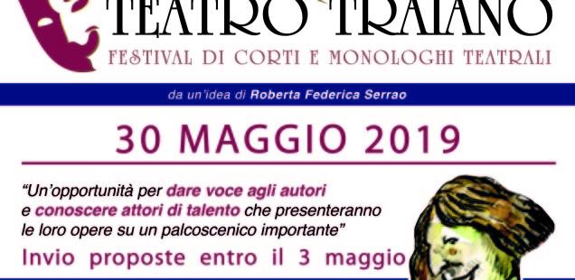 Premio Teatro Traiano - VII edizione - Festival di corti e monologhi teatrali