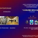 """Expò Internazionale della Pace e dell'Arte Visiva Contemporanea """"i Colori dell'Arte"""""""