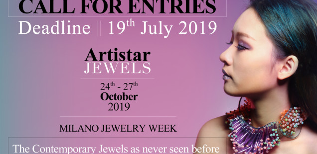 Open Call Artistar Jewels 2019 Fall Edition