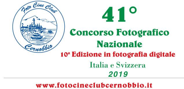 41 concorso fotografico nazionale - Cernobbio 2019