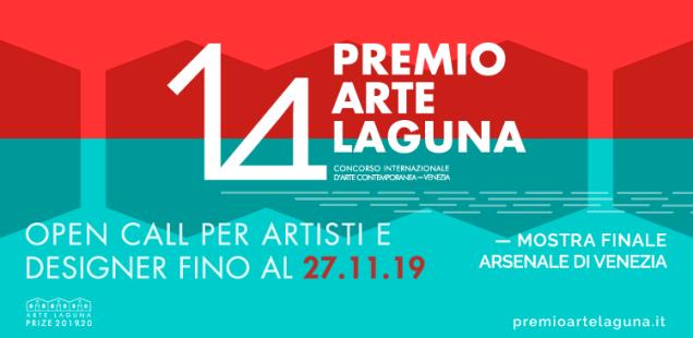 14° Premio Arte Laguna - iscrizioni aperte per artisti e designer