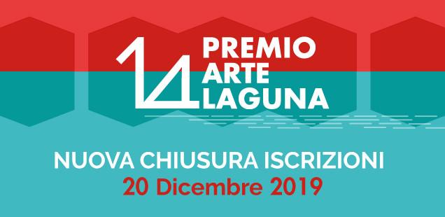 14° Premio Arte Laguna - iscrizioni aperte fino al 20 Dicembre