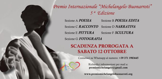 Premio Internazionale Michelangelo Buonarroti. Concorso per Pittori Scultori Fotografi