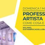Workshop Professione artista: come cosa e perchè