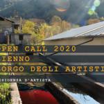 Bando residenze d'artista 2020