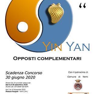"9"" Yin Yang Opposti Complementari"