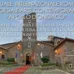 """Annuale Internazionale d'Arte Contemporanea """"Apollo dionisiaco"""" Roma 2020.  Per opere in poesia, pittura, scultura, fotografia e grafica di artisti di ogni età, formazione e nazionalità."""