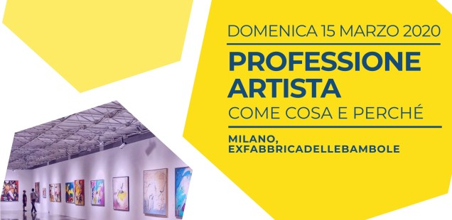 WORKSHOP | Professione artista: come, cosa e perché?
