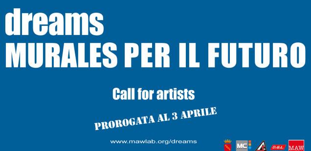 DREAMS. MURALES PER IL FUTURO Call for Artist