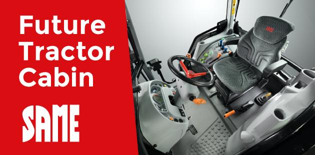 Future Tractor Cabin - Nuovo progetto di innovazione per il Gruppo SDF