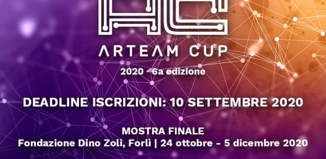 Al via le iscrizioni al premio d'arte contemporanea Arteam Cup 2020, sesta edizione